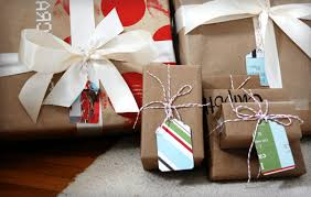 brown gift wrapping paper brown paper grocery bag gift wrap