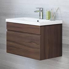 walnut vanity unit home furniture u0026 diy ebay