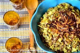 cuisine riz riz aux lentilles mjaddara libanais le cuisine de samar