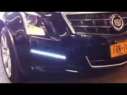 cadillac cts lights led driving light kit from customradio com 2013 cadillac cts