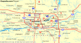 iowa map with cities all golf qc com qca map page ia il cities