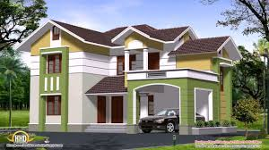 4 bedroom house plans 2 story in kerala youtube