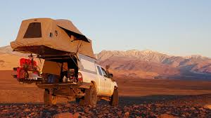 survival truck camper at overland
