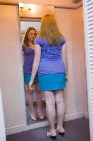 Bathroom Mirror Selfies by Ever Wondered Why Some Mirrors Make You Look Skinnier Than Others