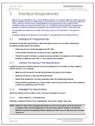 interface control document template technical writing tips