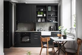Small Living Spaces by Small Living Space With A Great Kitchen Coco Lapine Designcoco