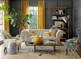 Blue And Grey Living Room Ideas Awesome Gray And Yellow Decorating Ideas Pictures House Design