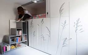 8 square meters incredibly small apartment in paris
