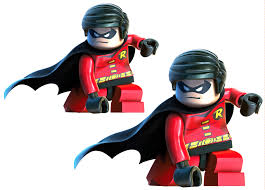 robin lego character wall stickers totally movable