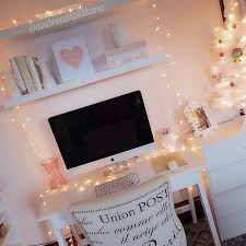 Office Decor Pinterest by I Love Christmas Lights As All Year Round Decorations So Cute