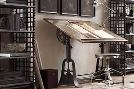 Pottery Barn Home Office Furniture 12 Industrial Desks You U0027ll Want For Your Home Office