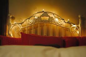 Bed Headboard Lights How To Hang Christmas Lights In Bedroom By Homearena
