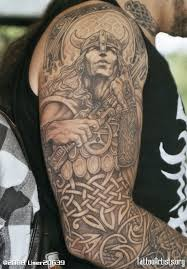 warrior medieval sleeve tattoos photo 2 2017 real photo