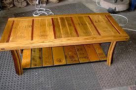 Wine Barrel Rocking Chair Plans Coffee Table Winebarrelfurniture Com