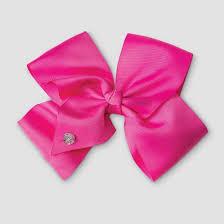 bow hair jojo siwa bow hair clip neon pink target