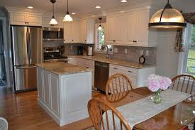 Cabico Cabinet Colors Cabico Cabinets For A Transitional Kitchen With A Pendant Lighting