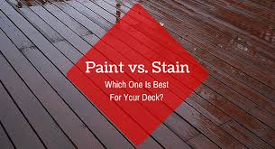 paint vs stain u2013 which one is best for your deck