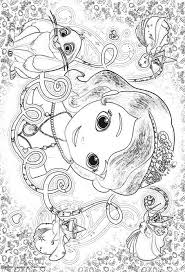 sofia the first coloring pages free printable