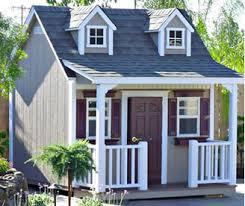 Backyard House Shed by Custom Sheds In California Backyard Sheds Gazebos Pergola