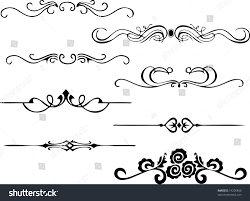 simple ornaments stock vector 14205850