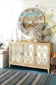 coastal decor ideas coastal wall clock u2013 philogic co