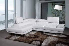 White Corner Sofa - Corner leather sofas