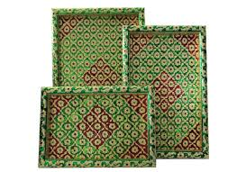 handcrafted home decor meenakari art piece artwork trays handcrafted products home