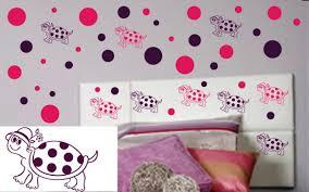 cute polka dot wall decals