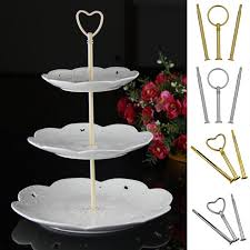 tier cake stand new arrival multi style 3 tier cake plate stand handle fitting