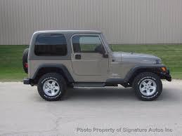 2004 jeep wrangler sport 2004 used jeep wrangler sport at signature autos inc serving