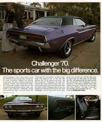 Dodge Challenger Old - dodge challenger forty years of a dodge muscle car legend cartype