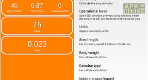 pedometer app for android walk pedometer step log for android free at apk here