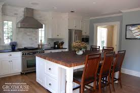 kitchen island with butcher block top butcherblock countertops wood countertop butcherblock and bar top