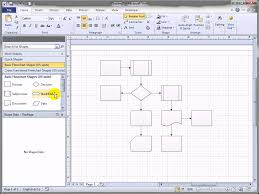 shift visio 2010 flowchart shapes automatically youtube