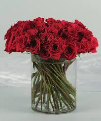 Long Stem Rose Vase 80 Long Stem Red Roses Delivering Beautiful Blooms Nairobi Florists
