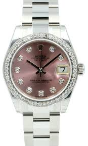 bentley pink diamonds rolex datejust 178274 ladies midsize 31mm pink diamond diamond