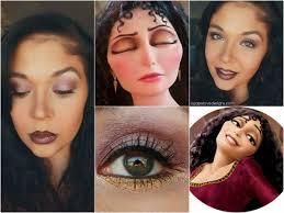 agape love designs tangled u0027s villain mother gothel inspired makeup