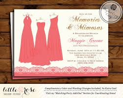 bridesmaid brunch invitations bridesmaids brunch invitation bridesmaids luncheon invite
