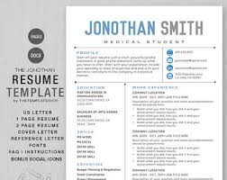 Media Resume Sample by Masculine Resume Etsy
