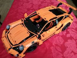 lego porsche 911 gt3 rs lego technic porsche 911 gt3 rs 42056 review lego 42056