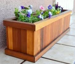 wooden deck boxes foter