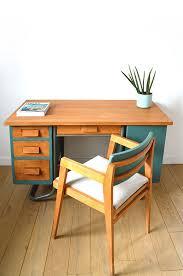 mobilier de bureau poitiers bureau écolier vintage vert perso bureau ecolier
