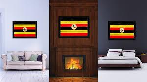 Country Vintage Home Decor Uganda Country Vintage Flag Home Decor Gift Ideas Wall Art