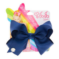 back to school hair bows jojo siwa small navy back to school hair bow s
