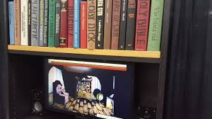 Ark Bookshelf by Puzzle Game Cryptogram Uses A Real Bookshelf To Open Secret Doors