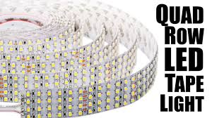cheap led light strips world u0027s brightest led light strips quad led tape light youtube