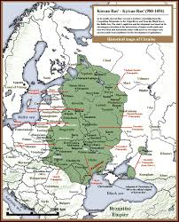 Volga River Map Princess Olha Of Kyiv A Golden Page In Ukrainian History