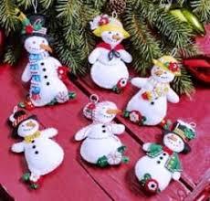 bucilla felt christmas ornament kits u2013 supply craft