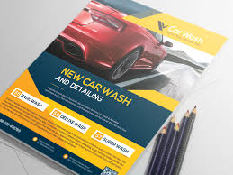 car wash flyer by alauddin sarker dribbble