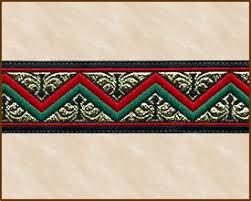 fabric ribbon zag swag jacquard ribbon fabric trim 7 8 inch black